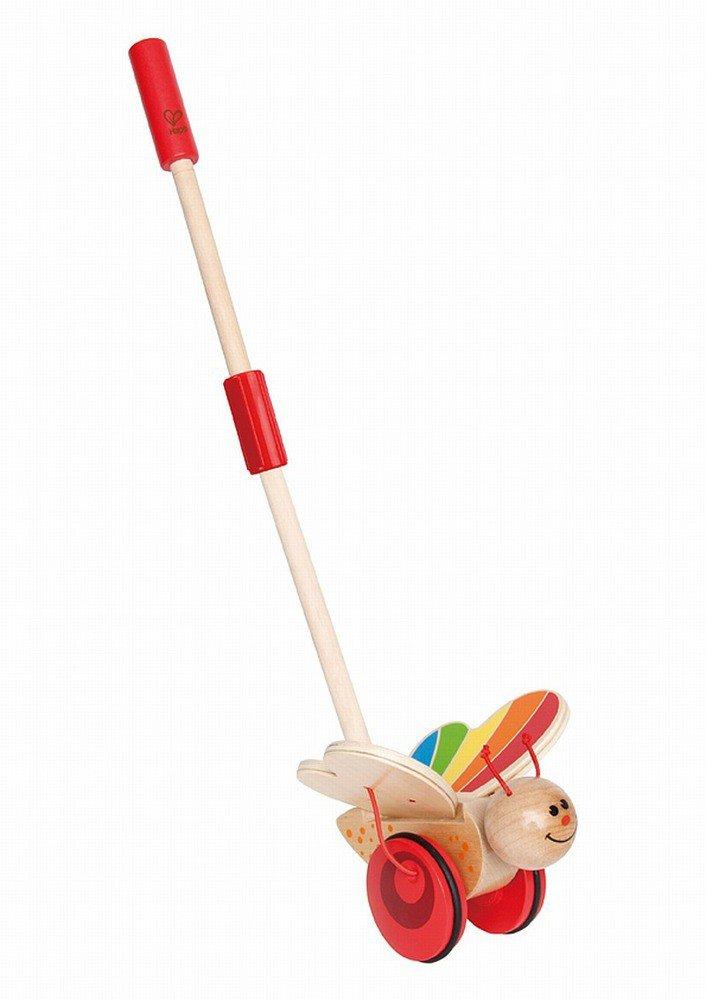 Drewniany pchacz dla dzieci, motyl, Hape  ZABAWKI  Zabawki drewniane ZABAWK   -> Drewniany Kuchnia Dla Dzieci Zrób Sam