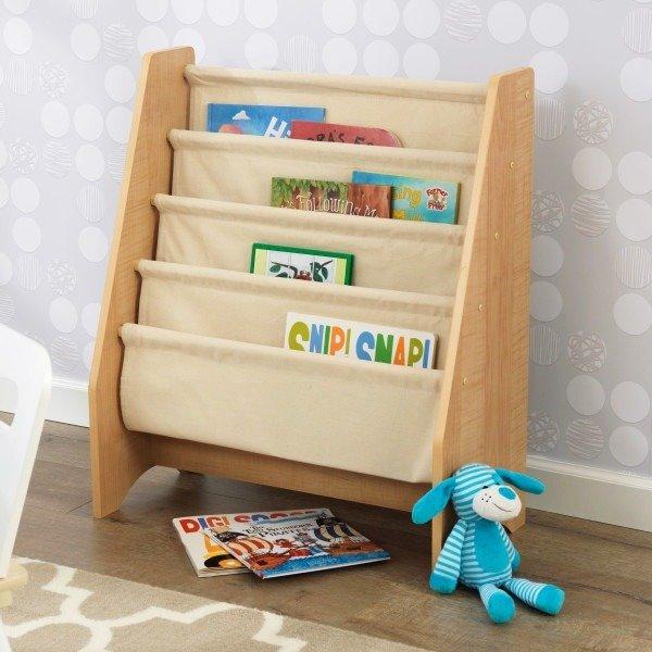 naturalny rega na ksi ki kidkraft pokoik meble dla dzieci szafy komody rega y p ki. Black Bedroom Furniture Sets. Home Design Ideas