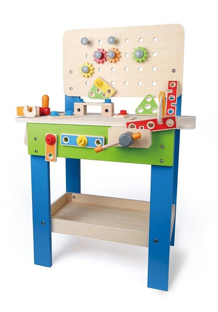 Warsztat Mistrz Z Drewna Zabawka Dla Chłopc 243 W Hape