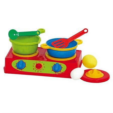 Czerwona Kuchenka Gazowa Gowi Zabawki Odgrywanie Rol Kuchnie
