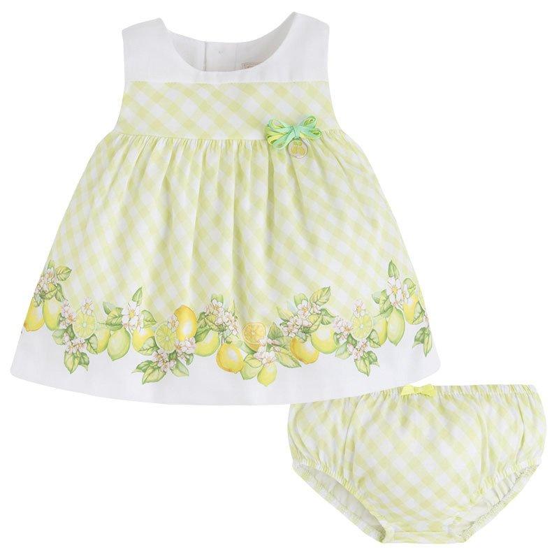 3e0877f490 ... Cytrusowa sukienka z majteczkami