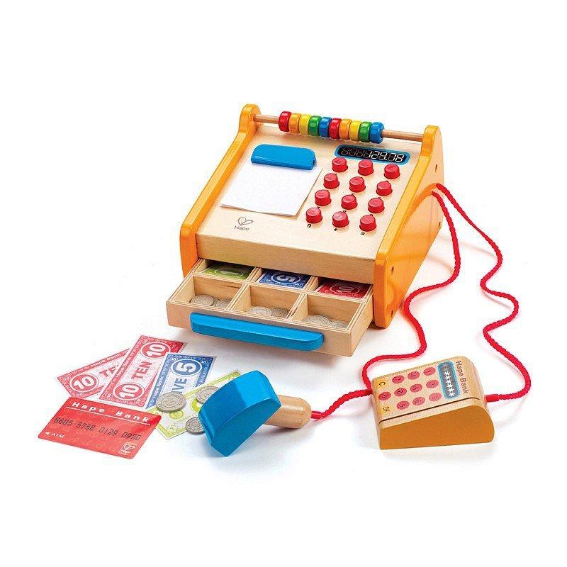Drewniana Kasa Dla Dzieci Hape Zabawki Zabawki Drewniane Zabawki Odgrywanie R L Sklep I