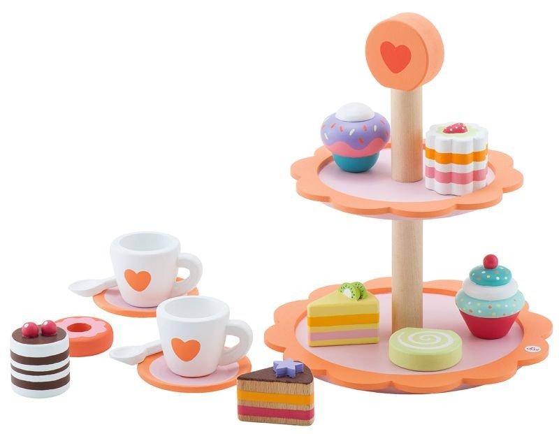Drewniana Patera Pełna Słodkości Sevi 15 El Zabawki Zabawki