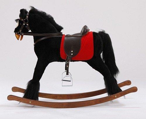 Duży Koń Na Biegunach Kary