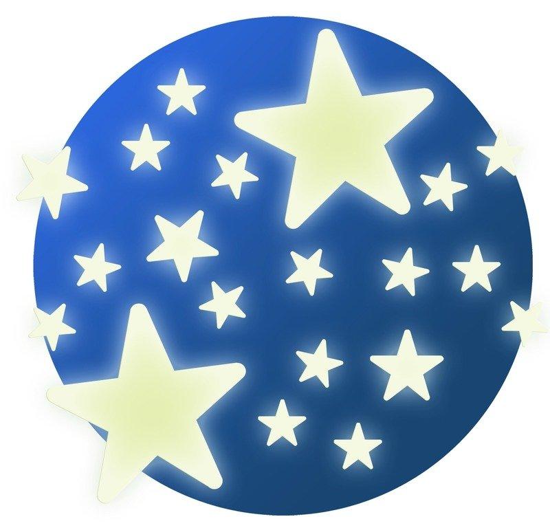 Fluorescencyjne Naklejki Na Sciane Gwiazdy Djeco Zabawki Zabawki