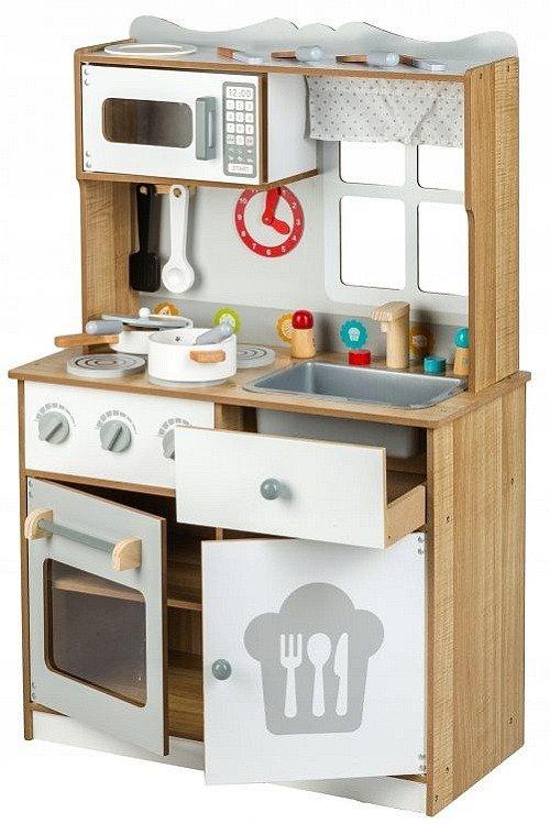 Kuchnia Drewniana Dla Dzieci Czapka Kucharska Zabawki Zabawki