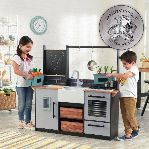 Na Farmie Kuchnia Drewniana Dla Dzieci Kidkraft Zabawki