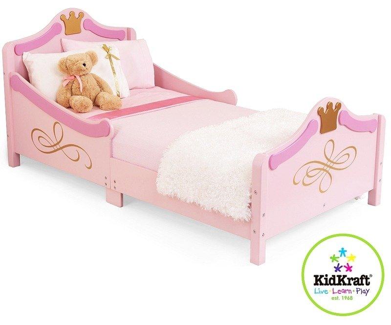 Różowe łóżko Małej Księżniczki Kidkraft