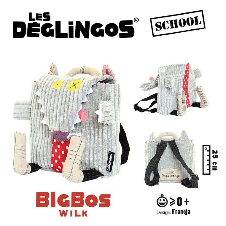 cd8ac162f725a ... Sztruksowy plecak Wilk Bigbos Les Deglingos ...