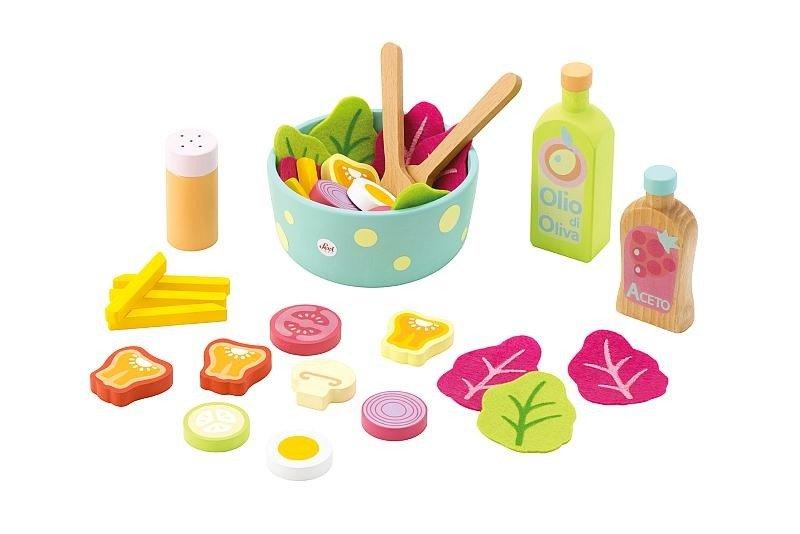 Zabawki Kuchenne Dla Dzieci Zestaw Sałatek Sevi Zabawki Zabawki