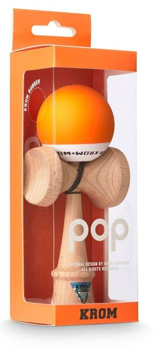 Drewniana Kendama Krom POP Orange